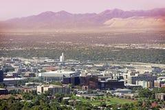 Salt Lake City Utah Stock Afbeelding
