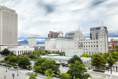 Salt Lake City, Utah, de V Stock Fotografie