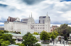 Salt Lake City, Utah, de V Stock Foto's