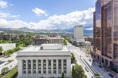 Salt Lake City, Utah, de V Royalty-vrije Stock Foto