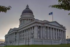 Salt Lake City Utah stolicy kraju budynkiem obraz royalty free