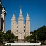 Salt Lake City Utah, templo de LDS Imágenes de archivo libres de regalías