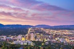 Free Salt Lake City, Utah, USA Downtown City Skyline Stock Images - 165379984