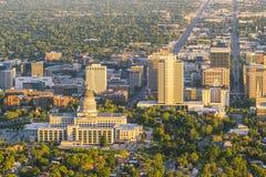 Salt Lake City utah, USA 2017/06/14: härliga Salt Lake City a Royaltyfria Foton