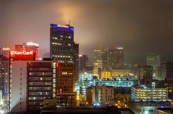 Salt Lake City van de binnenstad, Utah Stock Foto