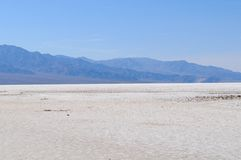 Salt Lake in Death Valley Royalty Free Stock Image