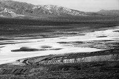Salt lake in Death Valley Stock Photos