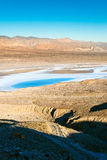Salt lake in Death Valley Royalty Free Stock Photography