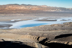 Salt lake in Death Valley Stock Image