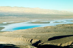 Salt lake in Death Valley Royalty Free Stock Photos