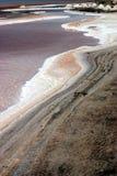 Salt lake desert. Salt lake in chot el jerid tunisia Royalty Free Stock Photos
