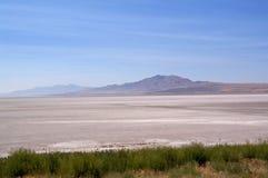 Salt Lake ed il campo salato immagine stock