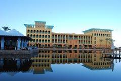 Salt Lake en el centro turístico de Taba Imagenes de archivo