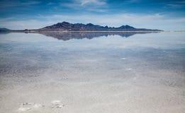 Salt Lake i Utah, USA Arkivbilder