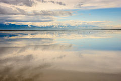 Salt Lake-Panorama Stockbilder