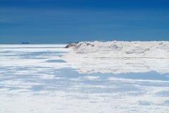 Salt lake Royalty Free Stock Photo