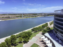 Salt Lake River, Tempe, AZ Stock Image
