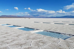 Salt lake, Salar in South America Royalty Free Stock Photography