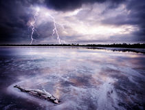 Salt Lake Storm Stock Photography