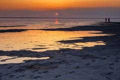 Salt lake Stock Photography