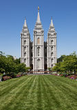 Salt Lake-Tempel Stockfotos