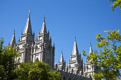 Salt Lake Temple Stock Image