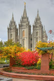 Salt Lake Temple Royalty Free Stock Photography