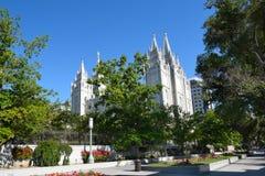 Salt Lake Temple Stock Photography