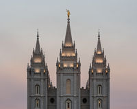 Salt Lake Temple Stock Photo