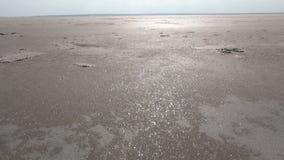 Salt lake of Turkey stock video footage
