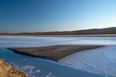 Salt Lake - Turkije Stock Foto's