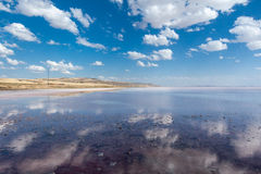 Salt Lake of Tuz Golu Turkey Stock Photo