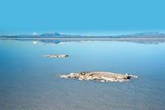 Salt lake Uyuni in Bolivia Royalty Free Stock Photo
