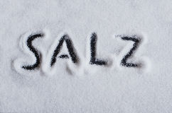 Salt Royalty Free Stock Photo