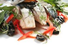 Salt mackerel Stock Photos