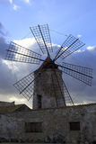 Salt mills at Marsala Stock Image