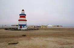 Salt min i Namibia Royaltyfria Bilder