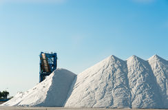Salt mine Royalty Free Stock Photo