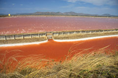 Salt mine Royalty Free Stock Images