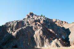 Cardona Salt mine cave grotto Stock Photo