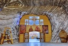 Salt mine church Stock Images