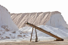 Salt mine Stock Image
