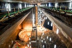 Salt mine Stock Image