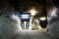 Salt mine royalty free stock images
