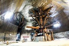 Salt mine Stock Photo