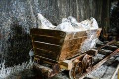 Salina Turda Salt Mine. Salt Mine Gallery View Salina Turda in Romania Stock Photo