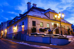 Salt Mine and the historic Regis Shaft, Wieliczka, Poland. Stock Photo