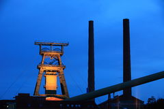 Salt Mine Industry. A salt mine industry in germany stock photography