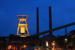Salt Mine Industry. A salt mine industry in germany stock images