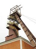 Salt mine pithead. In Bochnia, Poland Stock Photo